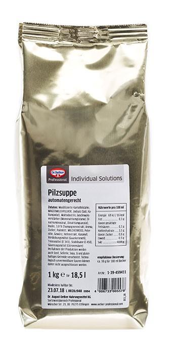 Feine Pilzsuppe